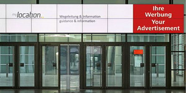 Digital Signage at Messe xyz